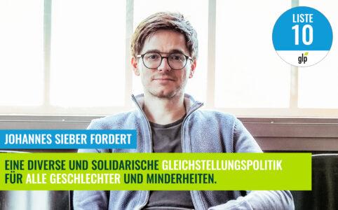 Johannes Sieber - Gleichstellungspolitik