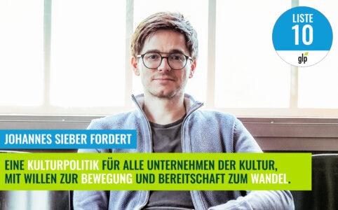 Johannes Sieber - Kulturpolitik